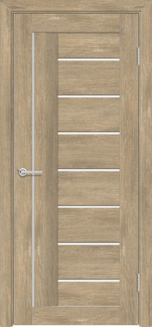 Межкомнатная дверь ПВХ S 11 дуб шале 3