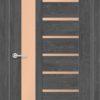 Межкомнатная дверь ПВХ S 4 орех королевский 2
