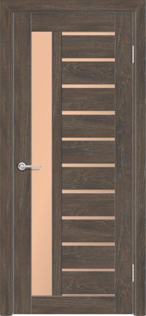 Межкомнатная дверь ПВХ S 13 дуб корица 3