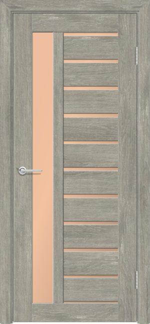 Межкомнатная дверь ПВХ S 13 дуб седой 3