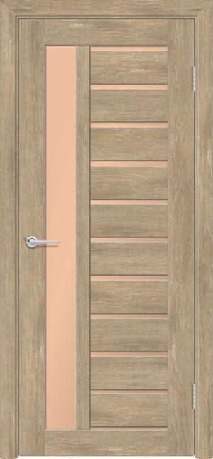 Межкомнатная дверь ПВХ S 13 дуб шале 3