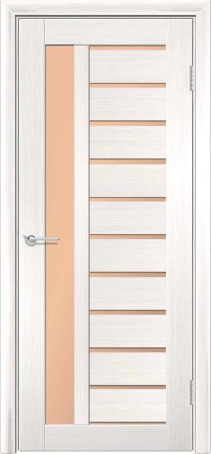 Межкомнатная дверь ПВХ S 13 лиственница беленая 3