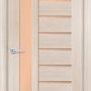 Межкомнатная дверь ПВХ S 51 лиственница беленая 1