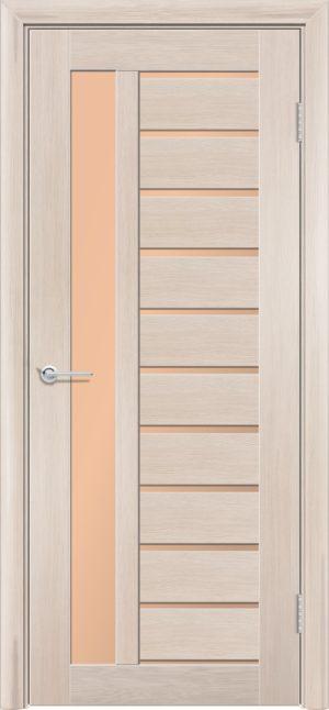 Межкомнатная дверь ПВХ S 13 лиственница кремовая 3