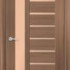 Межкомнатная дверь ПВХ S 52 орех королевский 2