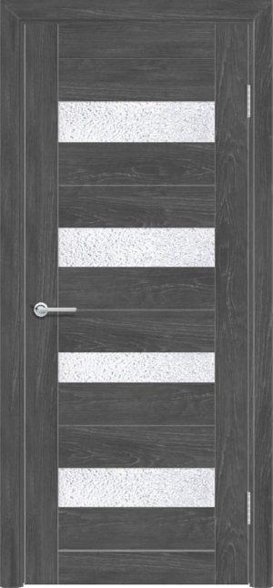 Межкомнатная дверь ПВХ S 14 дуб графит 1