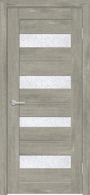 Межкомнатная дверь ПХВ S 14 дуб седой 3