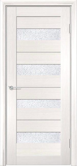 Межкомнатная дверь ПВХ S 14 лиственница беленая 3