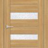 Межкомнатная дверь ПВХ S 14 лиственница золотистая 2