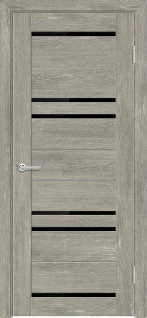 Межкомнатная дверь ПВХ S 16 дуб седой 1