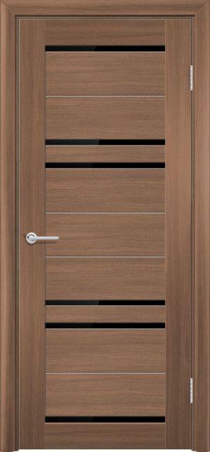 Межкомнатная дверь ПВХ S 16 орех королевский 3