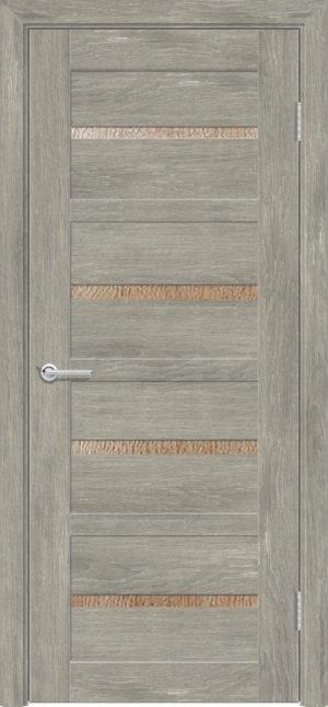 Межкомнатная дверь ПВХ S 17 дуб седой 3