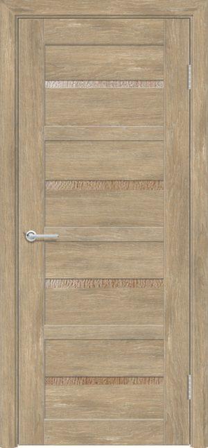 Межкомнатная дверь ПВХ S 17 дуб шале 3