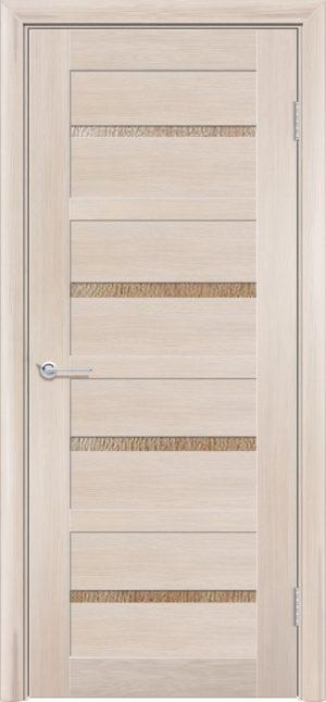 Межкомнатная дверь ПВХ S 17 лиственница кремовая 3