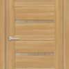 Межкомнатная дверь ПВХ S 4 лиственница кремовая 1