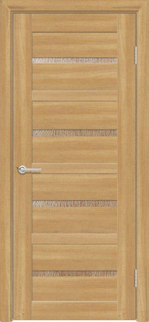 Межкомнатная дверь ПВХ S 17 лиственница золотистая 1