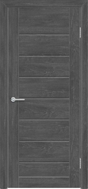 Межкомнатная дверь ПВХ S 18 дуб графит 3