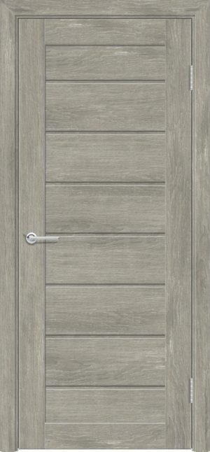 Межкомнатная дверь ПВХ S 18 дуб седой 3