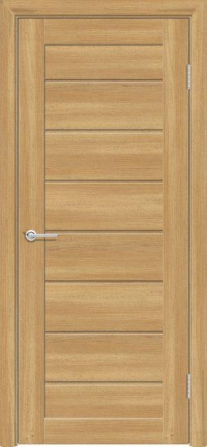 Межкомнатная дверь ПВХ S 18 лиственница золотистая 3