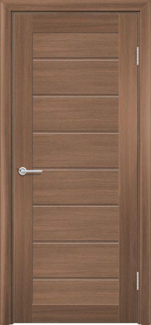 Межкомнатная дверь ПВХ S 18 орех королевский 3