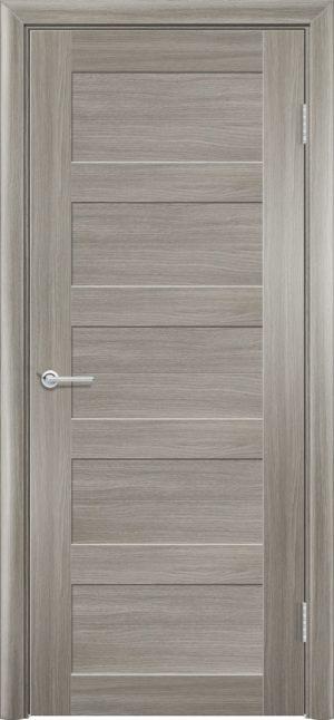 Межкомнатная дверь ПВХ S 19 дуб дымчатый 3