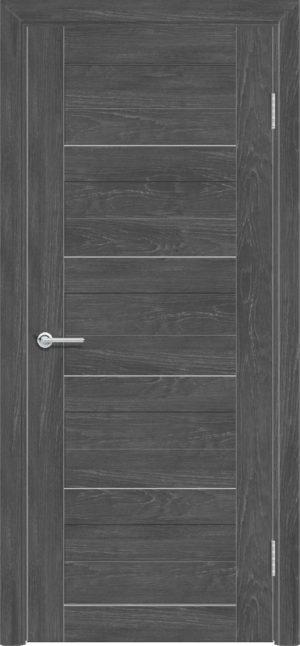 Межкомнатная дверь ПВХ S 19 дуб графит 3