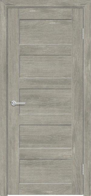 Межкомнатная дверь ПВХ S 19 дуб седой 1