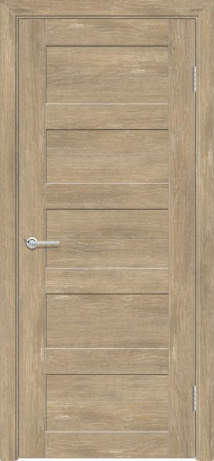 Межкомнатная дверь ПВХ S 19 дуб шале 1