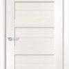 Межкомнатная дверь ПВХ S 42 лиственница беленая 2