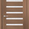 Межкомнатная дверь ПВХ S 9 орех королевский 1
