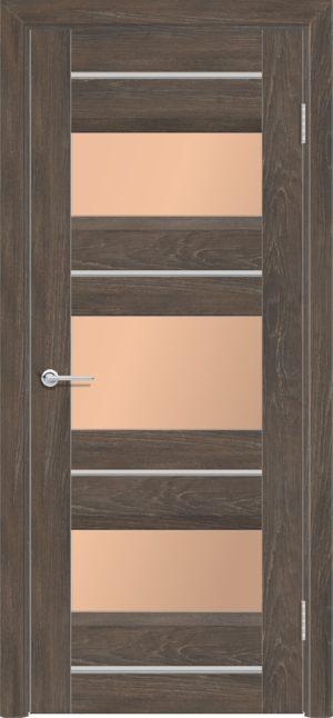 Межкомнатная дверь ПВХ S 20 дуб корица 3