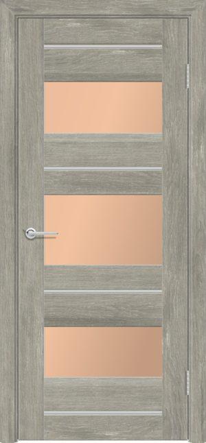 Межкомнатная дверь ПВХ S 20 дуб седой 3