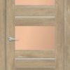 Межкомнатная дверь ПВХ S 40 лиственница кремовая 2