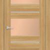 Межкомнатная дверь ПВХ S 44 дуб графит 1