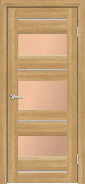 Межкомнатная дверь ПВХ S 20 лиственница золотистая 3