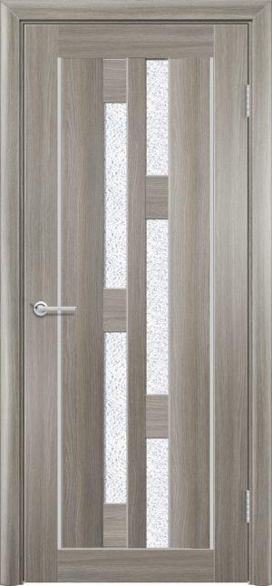 Межкомнатная дверь ПВХ S 21 дуб дымчатый 3
