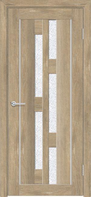 Межкомнатная дверь ПВХ S 21 дуб шале 1