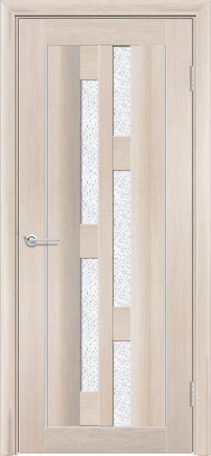 Межкомнатная дверь ПВХ S 21 лиственница кремовая 1