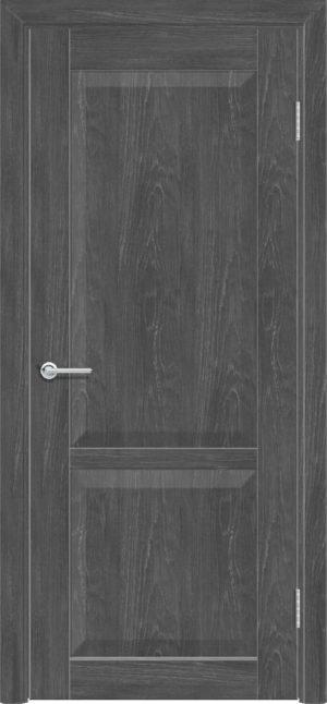 Межкомнатная дверь ПВХ S 22 дуб графит 3