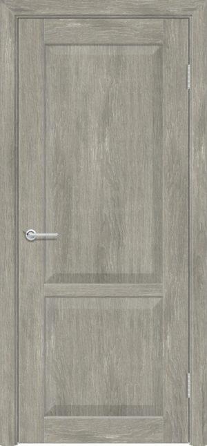 Межкомнатная дверь ПВХ S 22 дуб седой 1