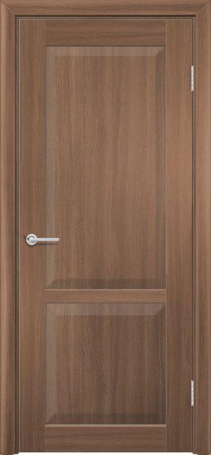 Межкомнатная дверь ПВХ S 22 орех королевский 3