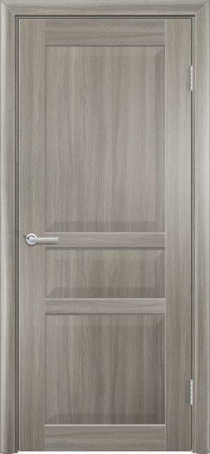 Межкомнатная дверь ПВХ S 23 дуб дымчатый 1