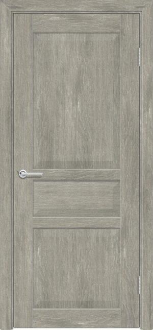 Межкомнатная дверь ПВХ S 23 дуб седой 1