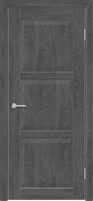 Межкомнатная дверь ПВХ S 24 дуб графит 3