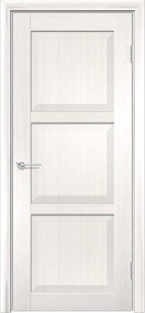 Межкомнатная дверь ПВХ S 24 лиственница беленая 1