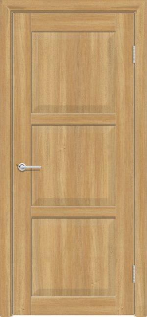 Межкомнатная дверь ПВХ S 24 лиственница золотистая 3