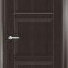 Межкомнатная дверь ПВХ S 28 дуб дымчатый 1