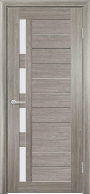 Межкомнатная дверь ПВХ S 25 дуб дымчатый 3