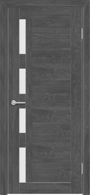 Межкомнатная дверь ПВХ S 25 дуб графит 3