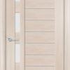 Межкомнатная дверь ПВХ S 18 орех королевский 1